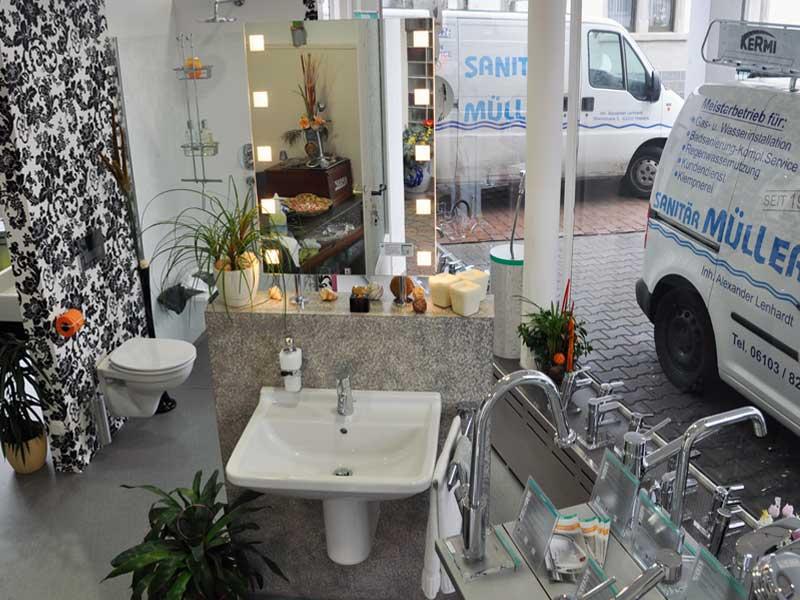 sanit r m ller. Black Bedroom Furniture Sets. Home Design Ideas
